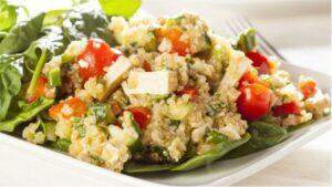 A quinoa perde algumas propriedades ao ser lavada antes do consumo
